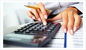 Home Loan Broker - Gold Coast - Brisbane - Calculator with Pencil